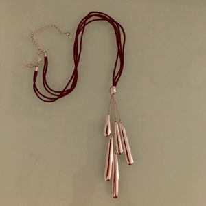 Chicos double strand long necklace
